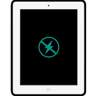 iPad 2 не включается